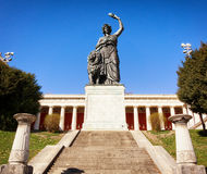 Famous statue of bavaria Stock Photography