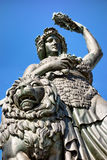 Famous statue of bavaria Royalty Free Stock Photo