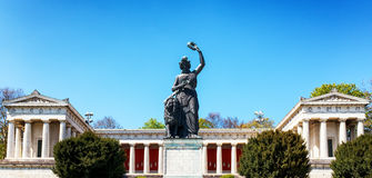 Famous statue of bavaria Royalty Free Stock Image