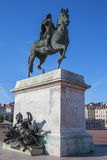 Famous statue of Louis XIV Stock Image