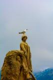 Famous statue of Monaco Stock Photos