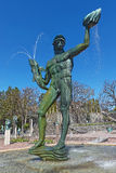 Famous statues at Millesgarden of the sculptor Carl Milles Stock Photos