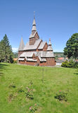 The famous Stave Church in Hahnenklee Stock Images