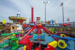 The famous Steel Pier in Atlantic City Stock Photos