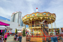The famous Steel Pier in Atlantic City Royalty Free Stock Image