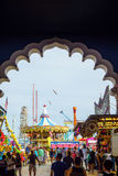 The famous Steel Pier in Atlantic City Royalty Free Stock Photos