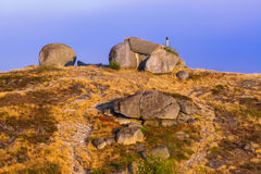 Famous stone house - Guimaraes Portugal Royalty Free Stock Image