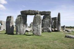 Famous stonehenge. Famous ancient stone circle in Stonehenge, England stock photo