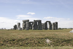 Famous stonehenge Stock Photography