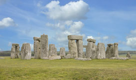 The famous Stonehenge Royalty Free Stock Images