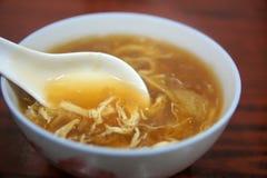 Famous street food - Shark's fin soup Stock Photos