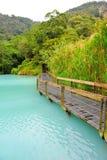 Famous Sun Moon lake in Taiwan Royalty Free Stock Image