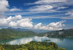 The Famous Sun Moon Lake in Taiwan Stock Photos