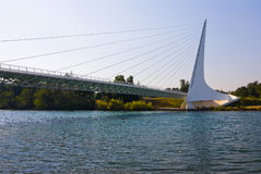Famous Sundial Bridge Stock Photo