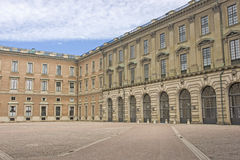 Famous Swedish Royal Palace Stock Photo