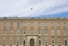 Famous Swedish Royal Palace Stock Photo