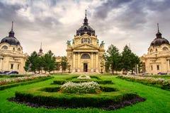 The famous Szechenyi thermal Baths Stock Image