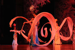 The famous Tang Dynasty show Stock Images