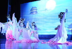 The famous Tang Dynasty show Royalty Free Stock Image