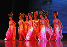 The famous Tang Dynasty show Royalty Free Stock Images