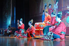 The famous Tang Dynasty show Royalty Free Stock Photo
