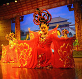 The famous Tang Dynasty show Royalty Free Stock Photography