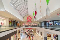 The famous target grocery store in the Glendale Galleria shopping mall. Los Angeles, NOV 26: The famous target grocery store in the Glendale Galleria shopping royalty free stock images