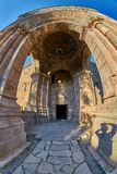 Tatev Monastery in Armenia. Famous Tatev Mountain Monastery in Syunik province of Armenia Stock Photo