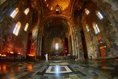 Tatev Monastery in Armenia. Famous Tatev Mountain Monastery in Syunik province of Armenia Stock Image