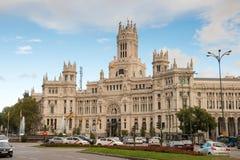 Famous Telecomunications Palace Stock Photos