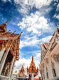 Famous Temple in Bangkok Thailand Royalty Free Stock Image