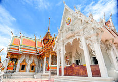 Famous Temple in Bangkok Thailand Royalty Free Stock Photos