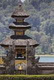 Famous temple at beratan lake, Bali, Indonesia Royalty Free Stock Image