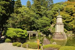 Famous temples in Kyoto, Japan stock photos
