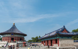 The famous Temple of Heaven in China Stock Photography
