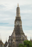 The famous temple in Thailand Royalty Free Stock Photos