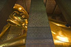 Famous Temple in Thailand, Wat Pho. Reclining Buddha at Wat Pho, Bangkok, Thailand Stock Photography