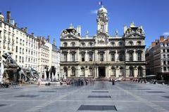 Famous Terreaux square Stock Photo