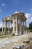 Famous Tetrapylon Gate in Aphrodisias Royalty Free Stock Photography