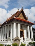 Famous Thai temple bathed in morning light royalty free stock photos