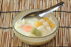 Famous thailand dessert (Bua Loi) Royalty Free Stock Photos