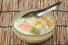 Famous thailand dessert (Bua Loi) Royalty Free Stock Photos