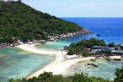 Koh nang nguan. The Famous of Thailand  Nang Gguan Island Stock Photos
