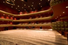Famous theatre interior royalty free stock photos