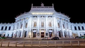 Famous theatre in vienna stock images