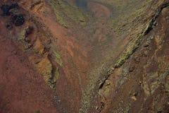 Famous Timanfaya National Park Stock Image