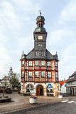 Famous timbered town hall  in Lorsch Stock Photography