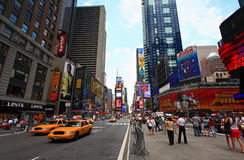 The famous Times Square Royalty Free Stock Photo