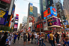 The famous Times Square Stock Photo