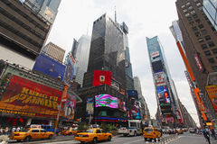 The famous Times Square Royalty Free Stock Photography